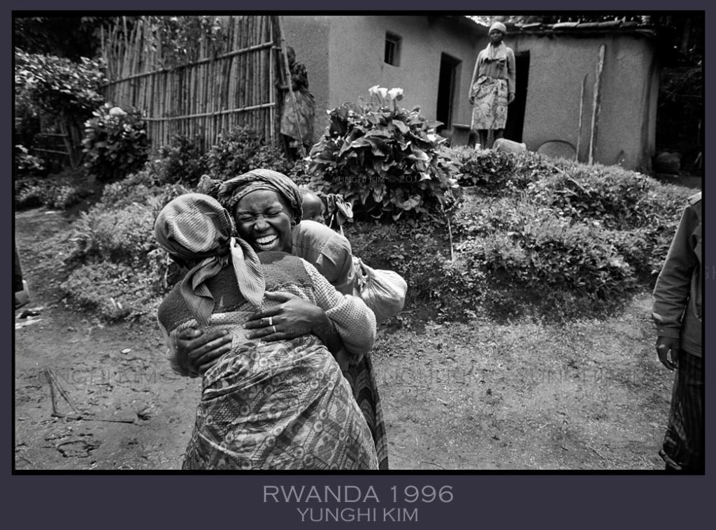 Image # 25.  Rwanda 1996. Reunion.