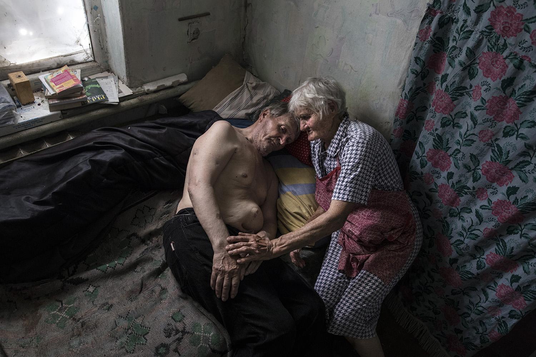 Ukraine's War: A Dire Situation - The Elderly