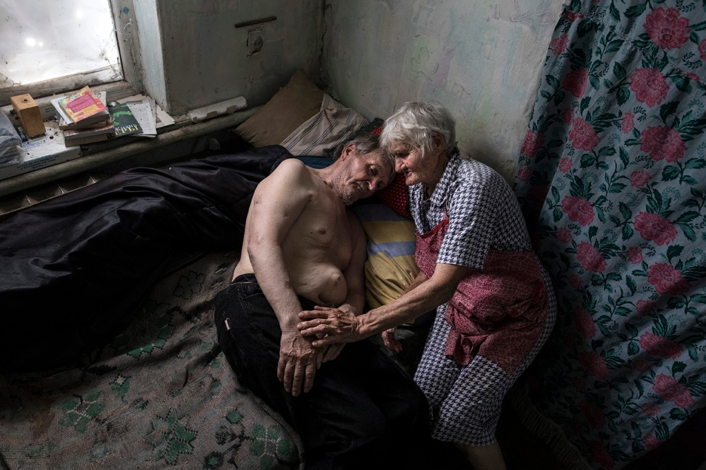 Ukraine's War: A Dire Situation - The Elderly